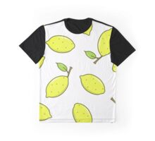 Lemon fruit with leaf Graphic T-Shirt