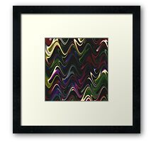 Abstract Waves 30 Framed Print