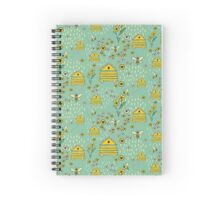 Honey Comb Hives Spiral Notebook