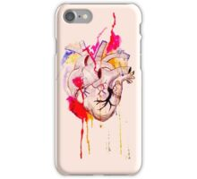 Anatomical Watercolor Heart iPhone Case/Skin