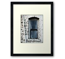 Window With No View Framed Print