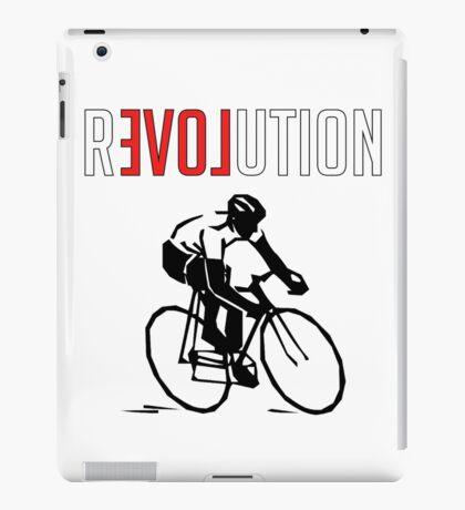 Cycling rEVOLution iPad Case/Skin