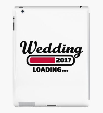 Wedding 2017 iPad Case/Skin