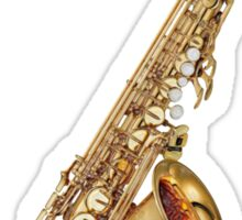 Sax on the Beach Alto Saxophone Sticker