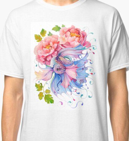 Flower Fish #1 Classic T-Shirt