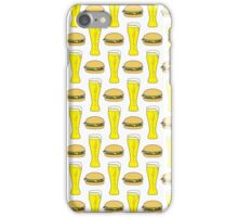 Burgers and Beers iPhone Case/Skin