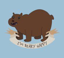 I'm BEAR-y Happy Kids Tee