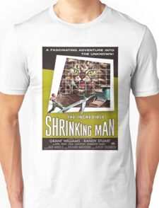 Vintage poster - The Incredible Shrinking Man Unisex T-Shirt