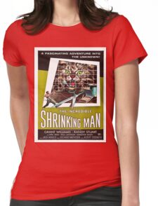 Vintage poster - The Incredible Shrinking Man Womens Fitted T-Shirt