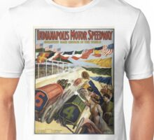 Vintage poster - Indianapolis Motor Speedway Unisex T-Shirt