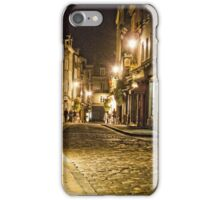 Honfleur at Night iPhone Case/Skin