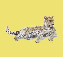 Leopard {Panthera pardus} Kids Tee