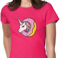 UNICORN DONUTS Womens Fitted T-Shirt