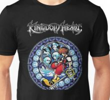 Kingdom Hearts Circular Logic Men Black T-shirt Unisex T-Shirt