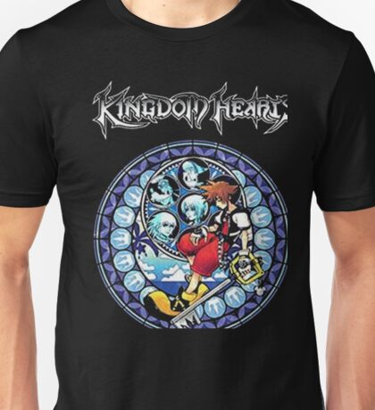 Kingdom Hearts Circular Logic Men Black T-shirt Unisex T-Shirt