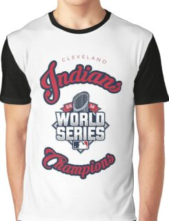 Cleveland Indians World Series Champs 2016 Graphic T-Shirt