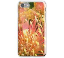 Protea in water colour iPhone Case/Skin