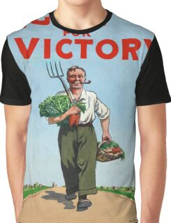 Vintage poster - Dig On For Victory Graphic T-Shirt