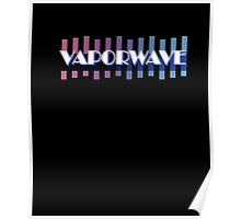 VAPORWAVE Retro Style 80s and 90s Inspired T-Shirt Poster
