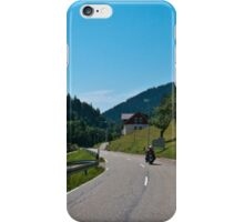Ride Through the Valley iPhone Case/Skin