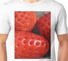fresh strawberries Unisex T-Shirt