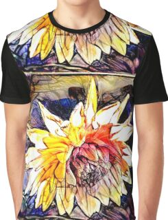 The Abstracted Dahlia  Graphic T-Shirt