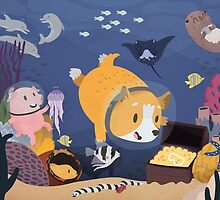 Diving For Treasure by Claire Stamper