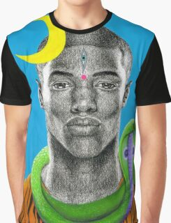 Shiva Hindu God Spiritual Snake Cobra Fantasy Graphic T-Shirt