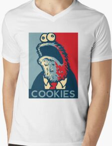 COOKIES we can believe in! Mens V-Neck T-Shirt