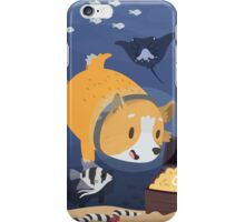 Diving For Treasure iPhone Case/Skin