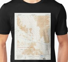 USGS TOPO Map California CA Cadiz Valley 296951 1956 62500 geo Unisex T-Shirt