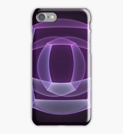 Abstract fractal magic color shape iPhone Case/Skin