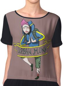 urban monk  Chiffon Top