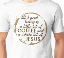 Jesus and Coffee Unisex T-Shirt
