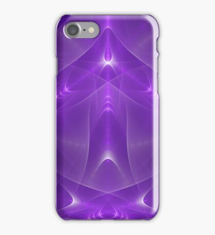Abstract fractal magic color iPhone Case/Skin