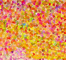 Canvas Art - Digital Background - Crazy Dots by pawelstp