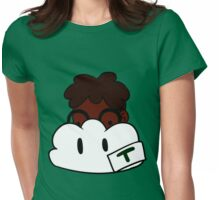 Toby and his cloud Womens Fitted T-Shirt