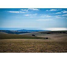 East Sussex Coast Photographic Print