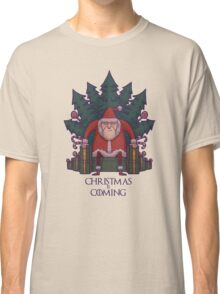 Santa of Thrones: Christmas Is Coming Classic T-Shirt