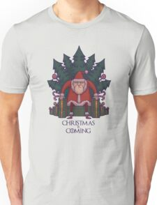 Santa of Thrones: Christmas Is Coming Unisex T-Shirt