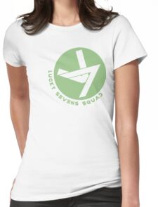 Lucky Sevens (Green) Womens Fitted T-Shirt