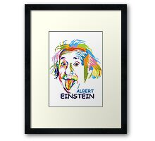 "WPAP - ""Albert Einstein 2"" Framed Print"