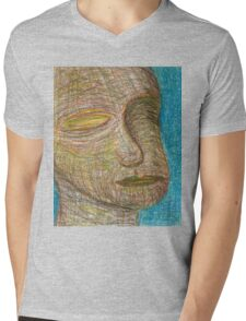 Tranquil Mens V-Neck T-Shirt
