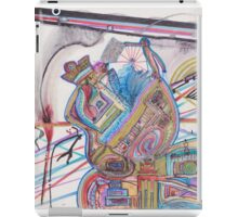 history of humankind on a cosmic level iPad Case/Skin