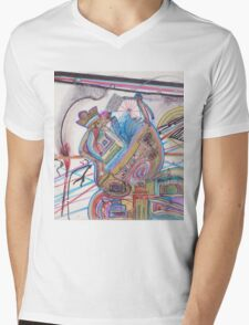 history of humankind on a cosmic level Mens V-Neck T-Shirt