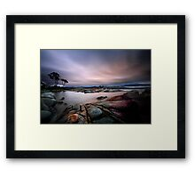 Bay of Fires Framed Print
