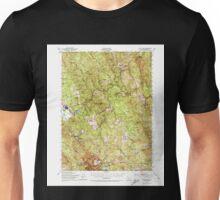 USGS TOPO Map California CA Blue Lake 296845 1951 62500 geo Unisex T-Shirt