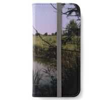 Channel leading into Torcello from wharf at Torcello Venice Italy 19840730 0010M  iPhone Wallet/Case/Skin