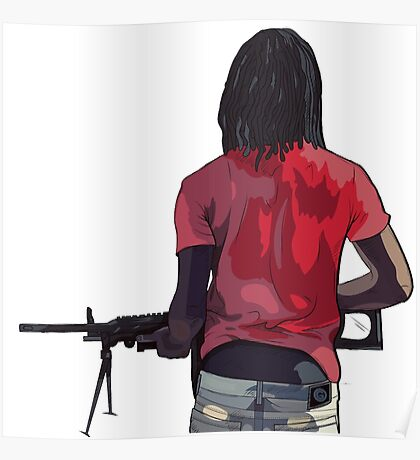 Chief Keef Holding Gun Poster