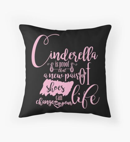 Shoes can change your life! Throw Pillow